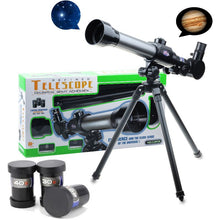 Load image into Gallery viewer, Students Experimental Astronomical Monocular Telescope With Tripod
