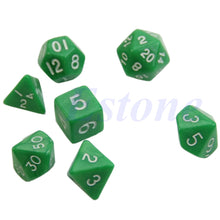 Load image into Gallery viewer, Dragon Glass 7pcs Dice Set