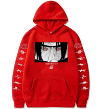 Load image into Gallery viewer, Naruto Hoodies Streetwear Itachi Pullover Sweatshirt