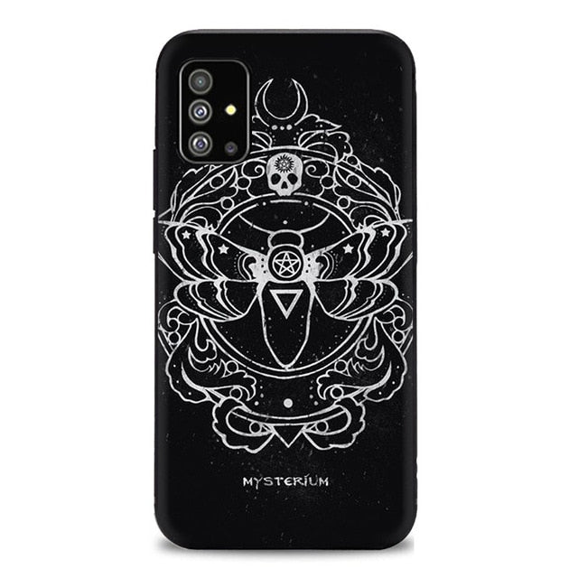 Mysterium Gothic Fantasy Silicone Phone Case for Samsung