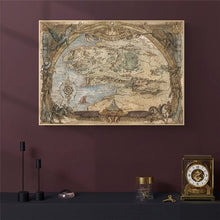 Load image into Gallery viewer, Middle-Earth Map Movie Posters And Prints