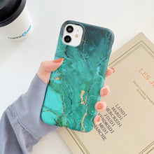 Load image into Gallery viewer, Marble Matte Phone Cases For iphone