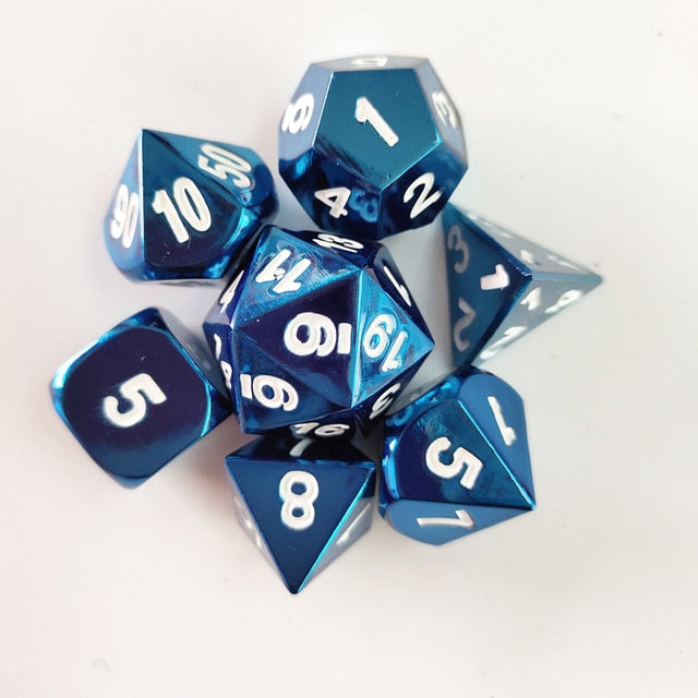 Solid State Metal Dice Set