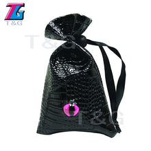 Load image into Gallery viewer, Great Dragon Eye Drawstring Leather Dice Bag