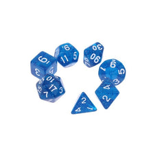 Load image into Gallery viewer, Jewel Dice 7pcs Dice Set