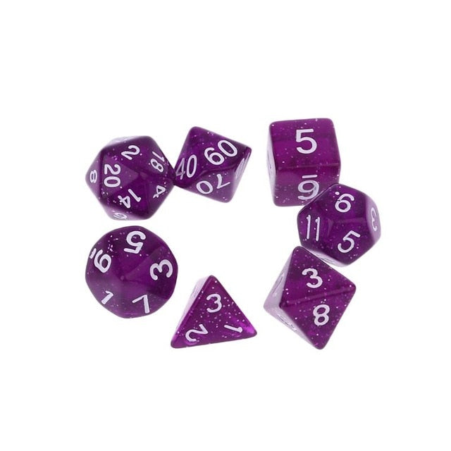 Jewel Dice 7pcs Dice Set