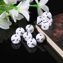 Load image into Gallery viewer, Six Sided Dice 10Pcs 16mm