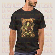 Load image into Gallery viewer, Dungeons & Dragons Dark Dragon D20 100% Cotton Casual T-shirts
