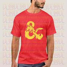 Load image into Gallery viewer, Dungeons & Dragons Ampersand 100% Cotton Graphic T-shirts