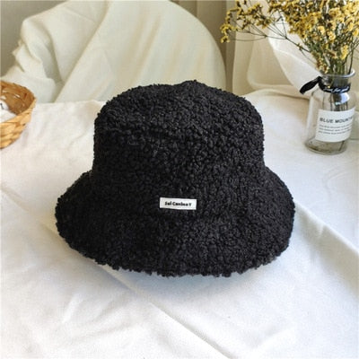 Women's Lovely Winter Teddy Velvet Hip Hop Hat