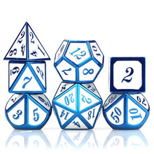 Load image into Gallery viewer, Arcane Trickster 7pc DnD Metal Dice Set