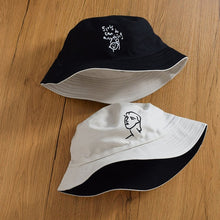 Load image into Gallery viewer, Variety Graphic Reversible Summer Panama Bucket Hat