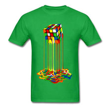 Load image into Gallery viewer, Sheldon Cooper Melted Rubix Cube T-Shirt