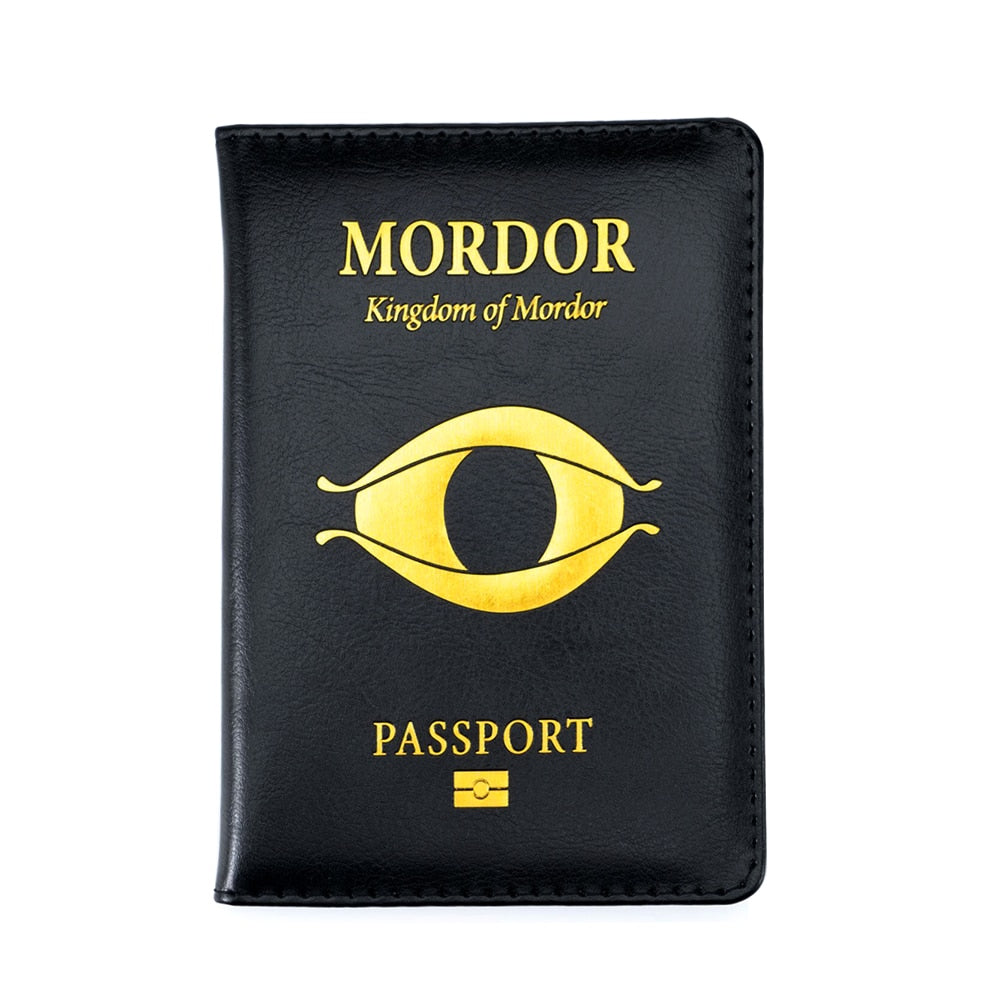 Middle Earth Shadow of Mordor Passport Cover