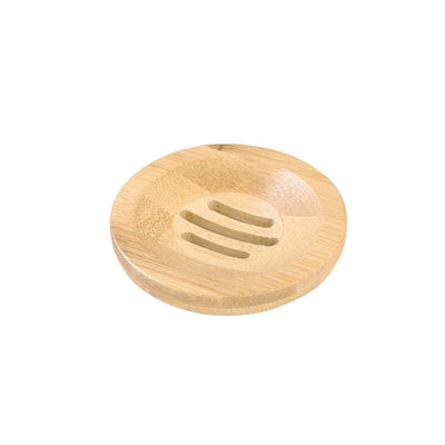 Wooden Natural Bamboo Soap Dishes Tray Holder - Youdreamwebring