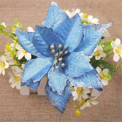 5pcs Artificial Christmas Flowers - Youdreamwebring