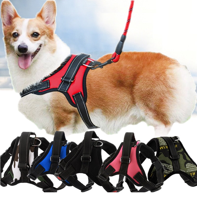 New Dog Soft Adjustable Harness - Youdreamwebring