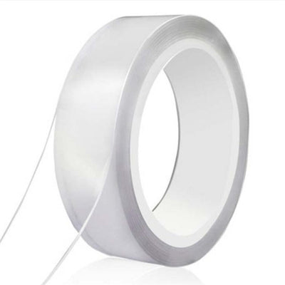 1/2/3/5M Nano Tracsless Tape Double Sided Tape Transparent No Trace Reusable Waterproof Adhesive Tape Cleanable Home gekkotape - Youdreamwebring