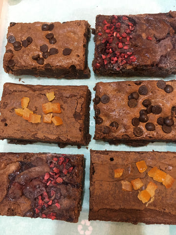 Fabulously Fruity (Gluten Free) Brownie Collection