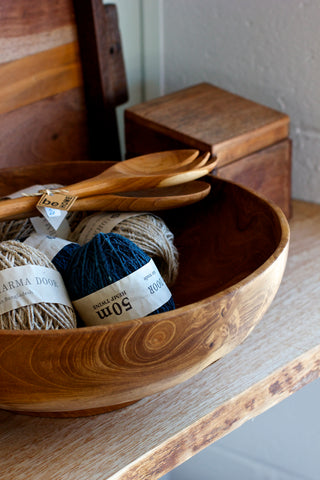Homeware and yarn available at the Monaluna store in Walnut Creek