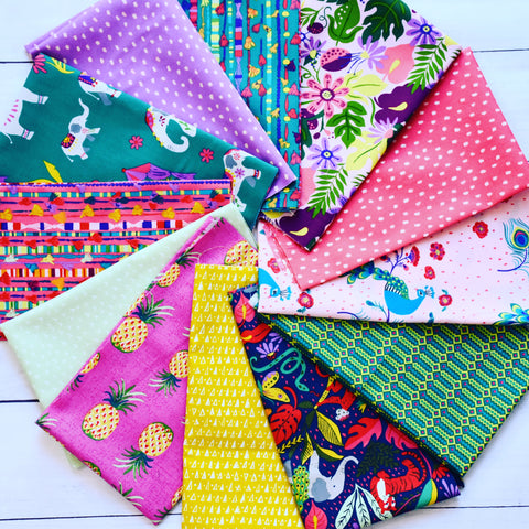Festival Fat Quarter Bundle - 12 prints