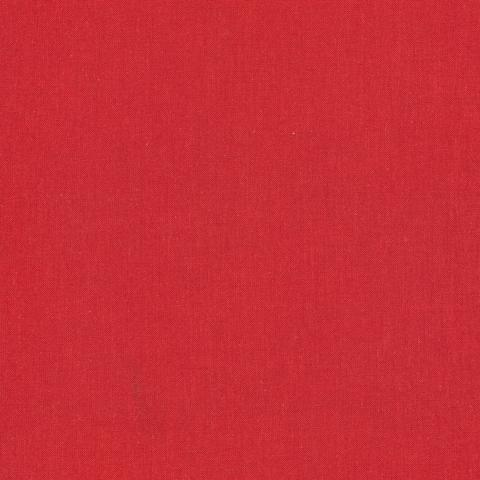 Solid Lava Red Broadcloth
