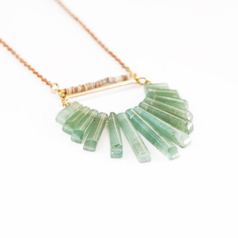 Nightlife Necklace in Aventurine