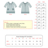 Ella Dress Pattern Sizing
