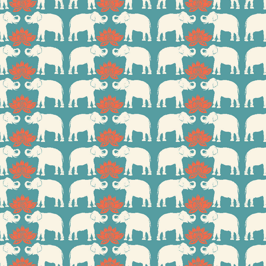 Haathi Organic Fabric by Monaluna