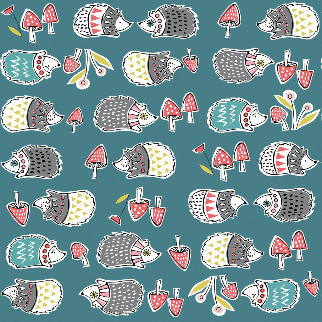 Hedgies Organic Fabric by Monaluna