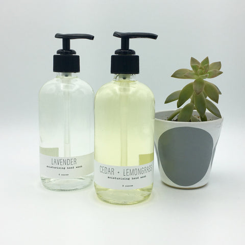 Handmade La Conner 8 oz Moisturizing Hand Wash