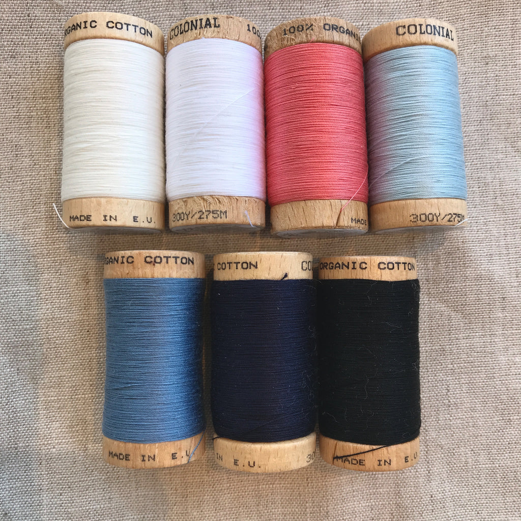 Organic Cotton Thread - 300 yards
