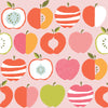 Pink Delicious Organic Canvas Fabric by Monaluna