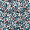 Woodland Floral Night Poplin