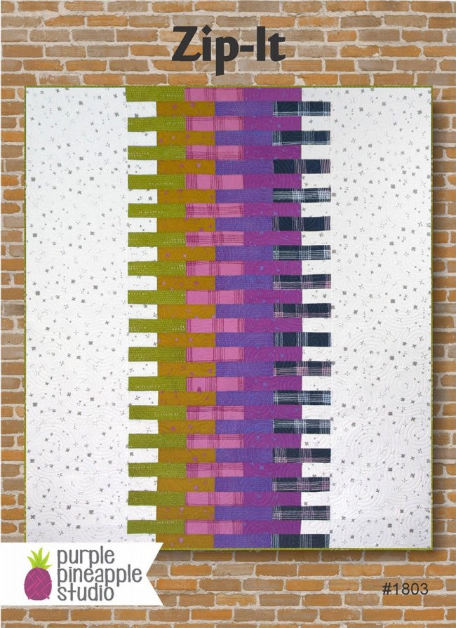 Postcard Quilt Pattern - Zip It