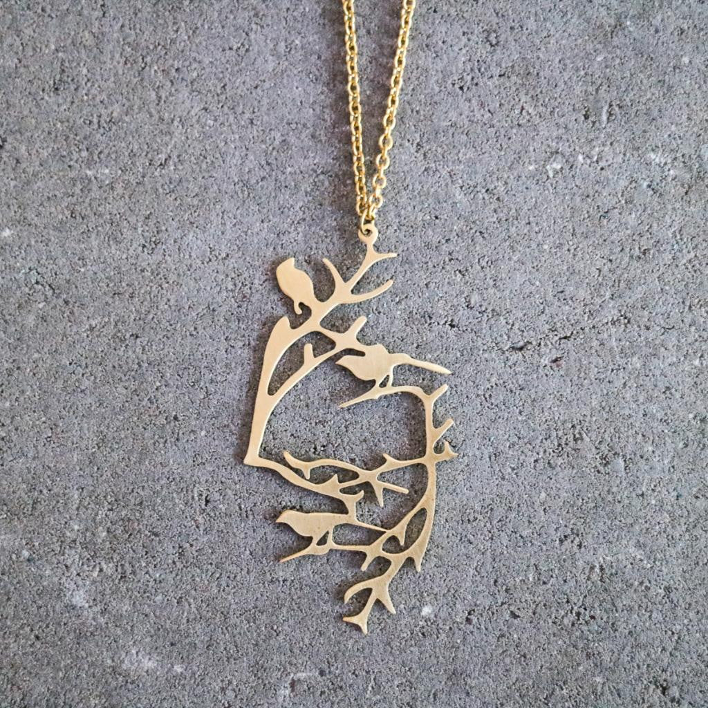 Skog Small Pendant Necklace by JohannaN