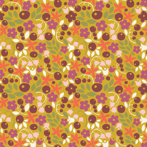 Bitty Blooms Organic Fabric by Monaluna