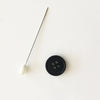 Buttons - Black Corozo Nut