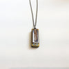 Harmonica Necklace by Larissa Loden-Silver