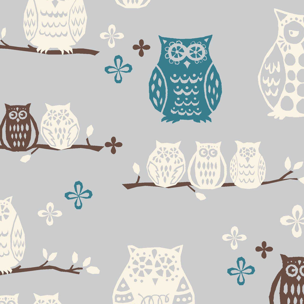 Hoot Organic Fabric by Monaluna