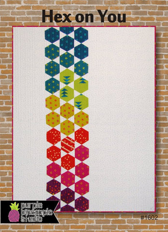 Postcard Quilt Pattern - Hex On You