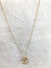 Pirouette Necklace in Gold by Larissa Loden