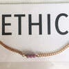 EthicGoods Petit 3 Crystal Necklace