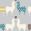 Llama Love Organic Fabric by Monaluna