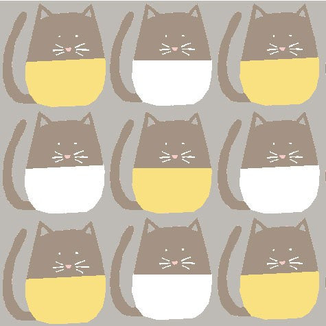 Meow Organic Fabric by Monaluna