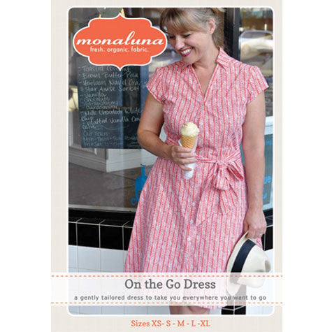 On the Go Dress Pattern Cover