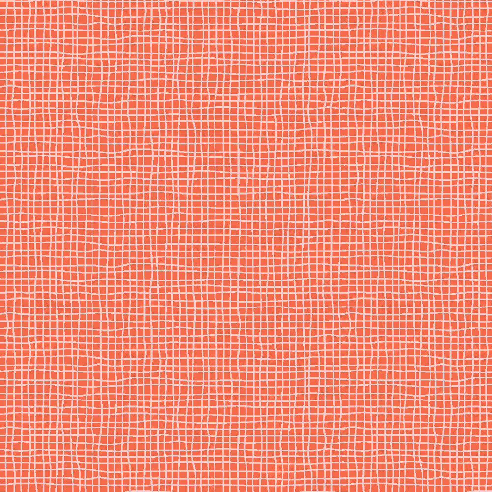 Weave Red Organic Fabric by Monaluna