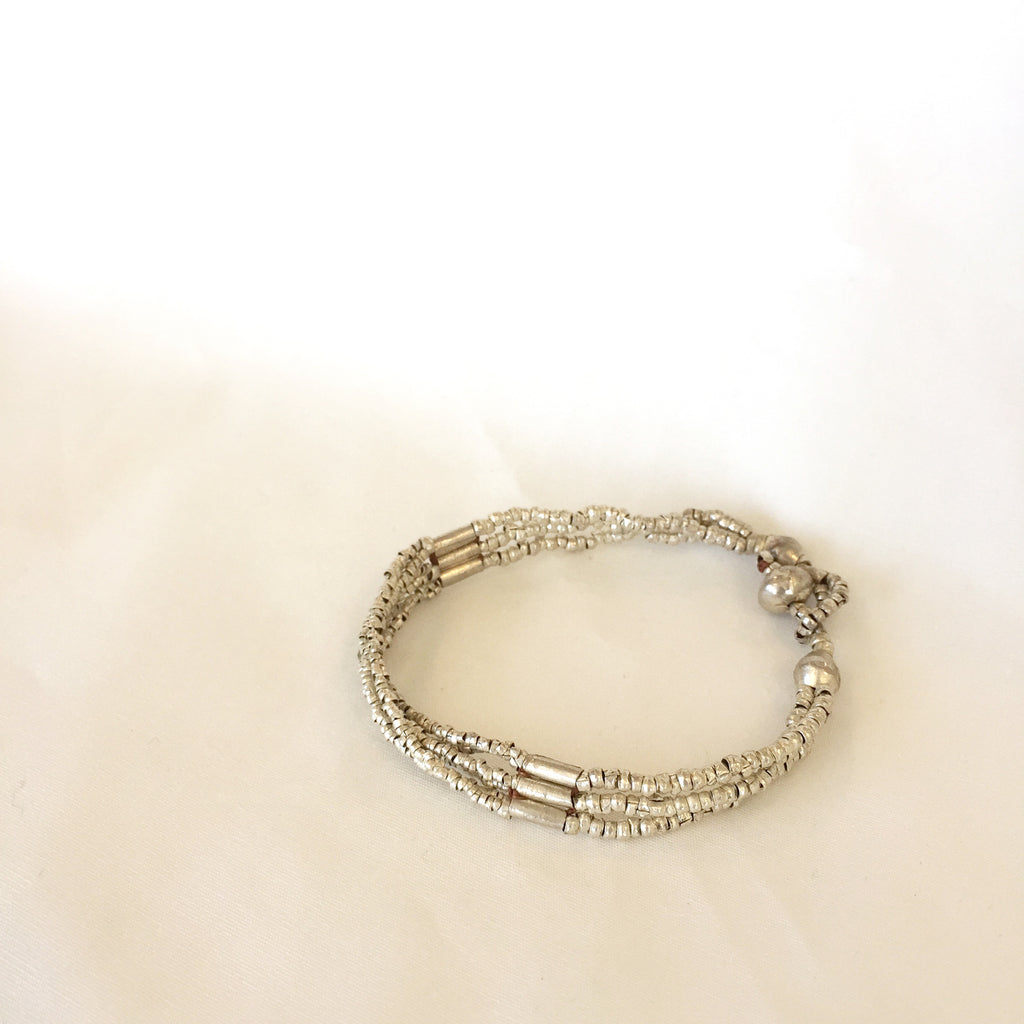 Seed and Barrel Bracelet by Ethic