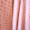 Pink fabric with accent gold shimmer spots, Spots, Haiku 2, Organic Cotton Fabric, sustainability, modern fabric, quilting, handmade, design, home design, interior design, eco friendly, DIY, patterns, cotton, apparel, sewing, sustainable fashion