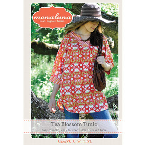 Tea Blossom Tunic Pattern Cover